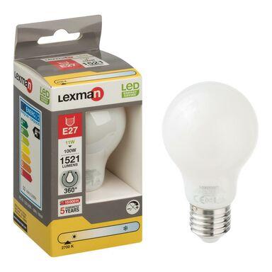 Żarówka LED E27 (230 V) 11 W 1521 lm Ciepła biel LEXMAN