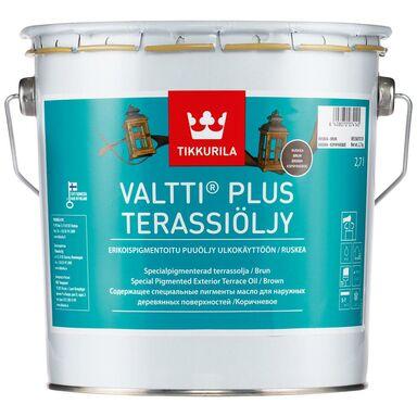 Olej zabezpieczający VALTTI TERRACE 2.7 l Brąz TIKKURILA