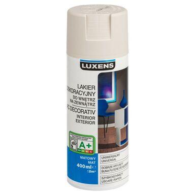 Spray KOLOR 0.4 l Szary jasny Mat LUXENS