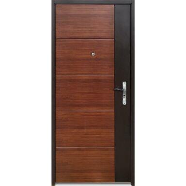 Drzwi wejściowe MOCCA 90 Lewe Orzech/Dąb OK DOORS TRENDLINE
