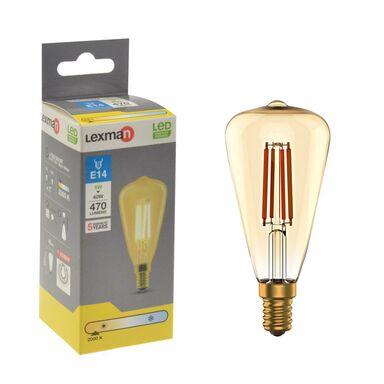 Żarówka dekoracyjna LED E14 5 W = 40 W 470 lm Ciepła LEXMAN