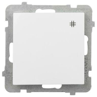 Włącznik krzyżowy AS  Biały  OSPEL