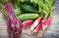 Ozdobne warzywa w ogrodzie