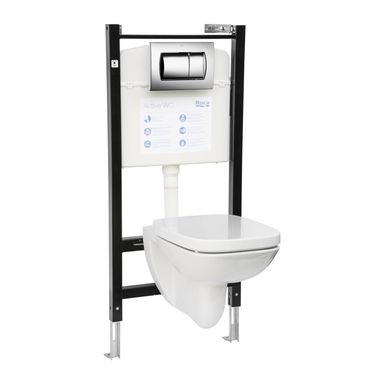 Zestaw podtynkowy WC DEBBA ROCA