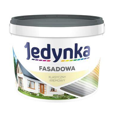 Farba elewacyjna FASADOWA 2.7 l Klasyczny kremowy JEDYNKA