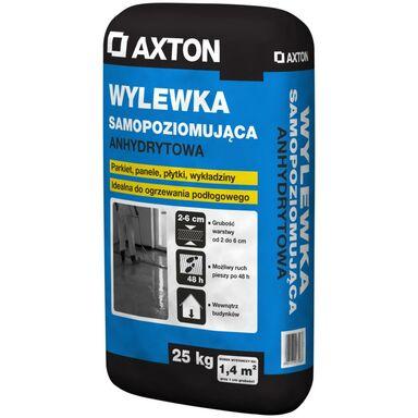 Wylewka anhydrytowa SAMOPOZIOMUJĄCA 25kg 20 - 60 mm AXTON