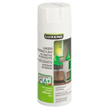 Spray KOLOR 0.4 l Biały Satyna LUXENS