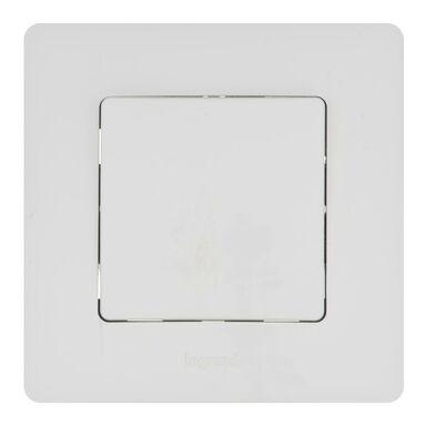 Podtynkowy przełącznik jednoczęściowy UNIWERSALNY NILOE  Biały  LEGRAND