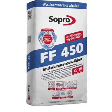 Zaprawa klejowa FF450 25 KG SOPRO