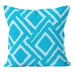 Poduszka Jane niebieska 45 x 45 cm
