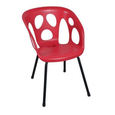 Krzesło ogrodowe GHOST czerwone