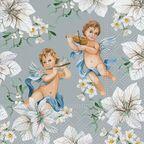 Serwetki świąteczne Angels in Flowers 33 x 33 cm 20 szt.