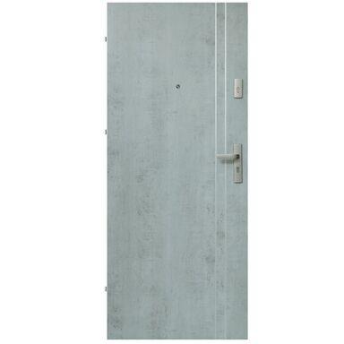 Drzwi zewnętrzne drewniane Iryd 01 Industry 80 Lewe Domidor