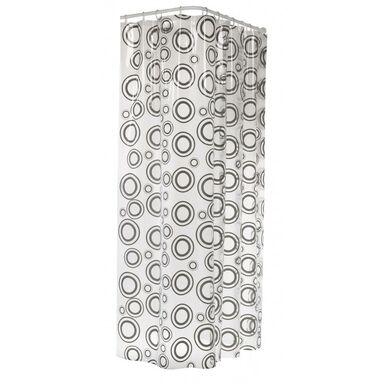 Zasłonka prysznicowa CIRCOLO 180 x 200 cm SEALSKIN