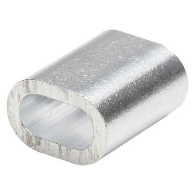 Złączka aluminiowa do liny 3MM 6 szt. STANDERS