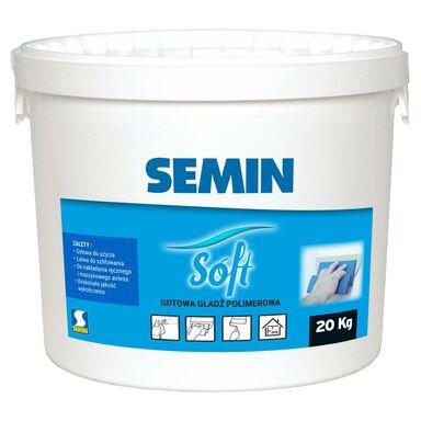Gotowa gładź polimerowa Semin soft 20kg
