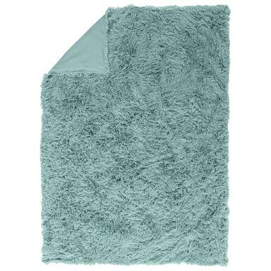 Narzuta LAMA niebieska 200 x 220 cm INSPIRE