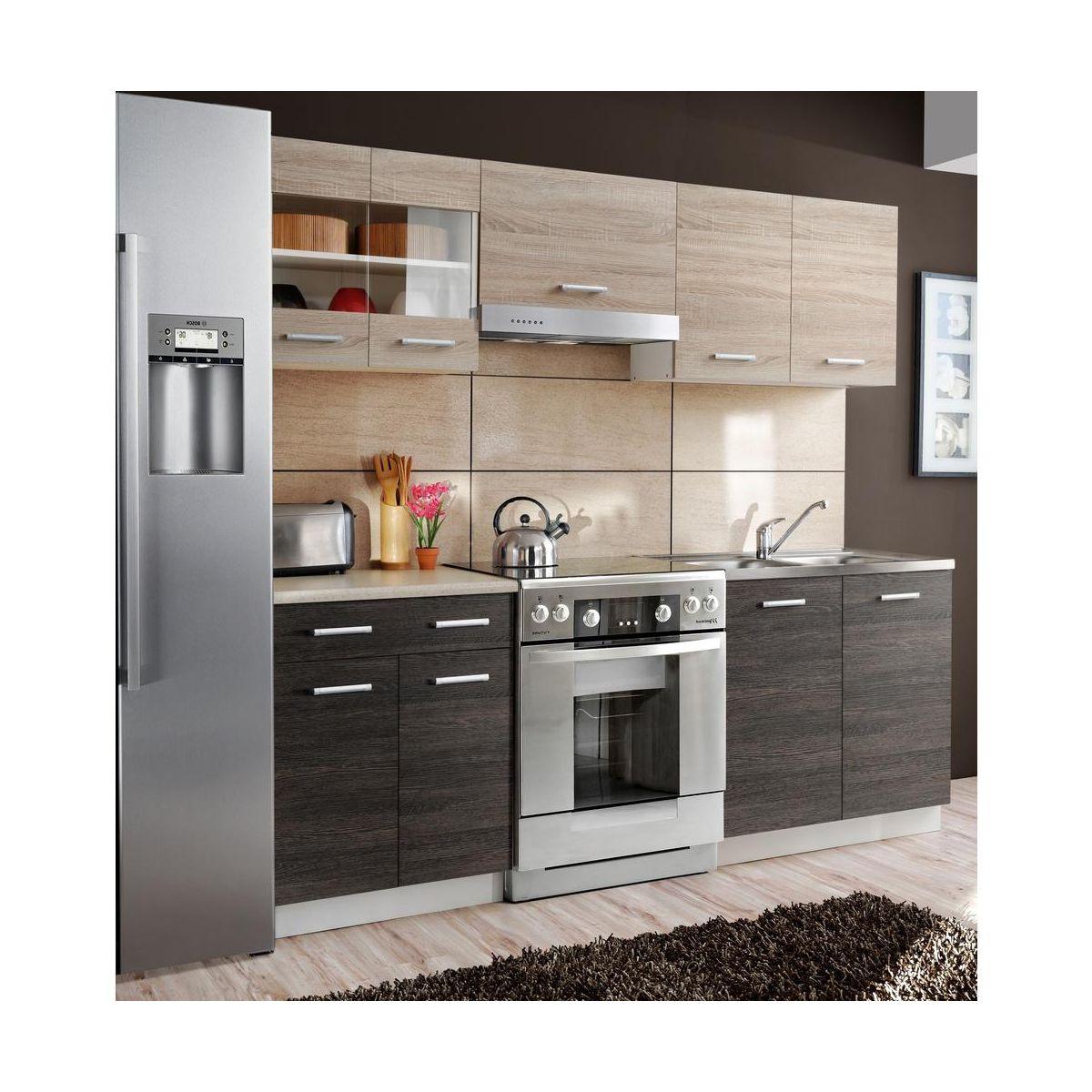 Zestaw mebli kuchennych LARA MEBLE OKMED  sprawdź opinie   -> Castorama Kuchnie Do Zabudowy