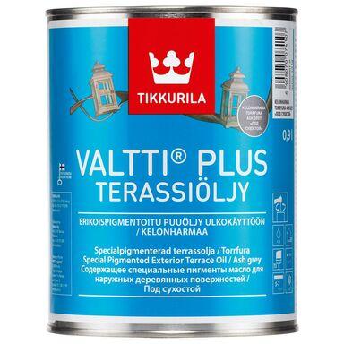 Olej zabezpieczający VALTTI TERRACE 0.9 l Szary TIKKURILA