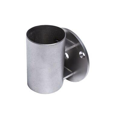 Mocowanie słupka poręczy PIONOWE FI 49,5 Inox
