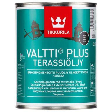 Olej zabezpieczający VALTTI TERRACE 0.9 l Czarny TIKKURILA