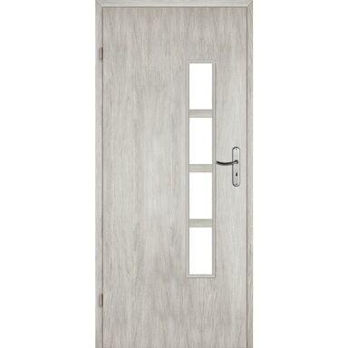 Skrzydło drzwiowe pokojowe Monti Dąb srebrny 90 Lewe Voster