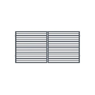 Brama dwuskrzydłowa RUBIN 300 x 150 cm POLARGOS