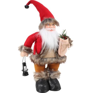 Mikołaj z lampionem 35 cm 1 szt.