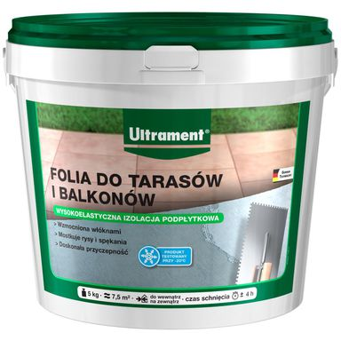 Folia do tarasów i balkonów 5 kg ULTRAMENT