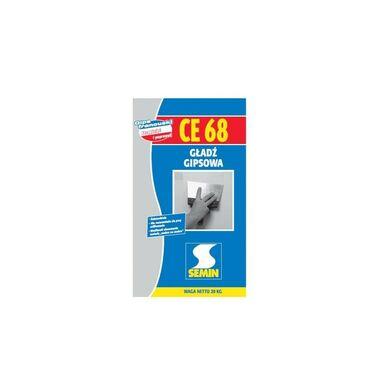 Gładź szpachlowa gipsowa CE 68 20 kg Semin