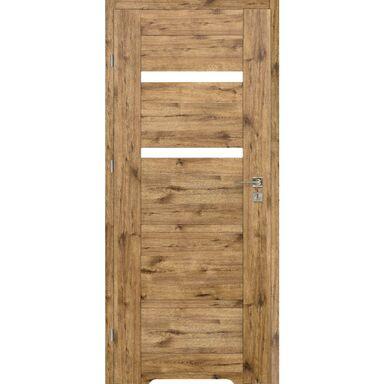 Skrzydło drzwiowe z podcięciem wentylacyjnym Parma Dąb szlachetny 70 Lewe Voster