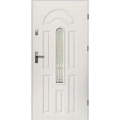 Drzwi wejściowe WENUS Białe 80 Prawe