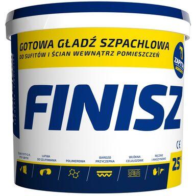 Gotowa gładź szpachlowa finish 25 kg Franpol