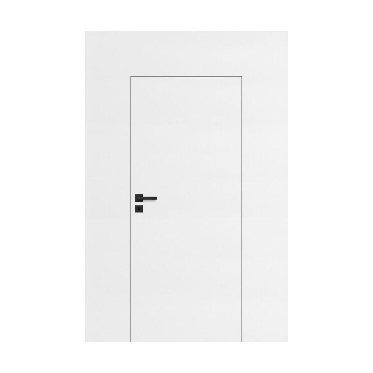 Skrzydlo Drzwiowe Pelne Diy Biale 80 Prawe Drzwi Wewnetrzne W Atrakcyjnej Cenie W Sklepach Leroy Merlin