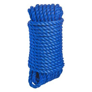 Lina polipropylenowa 120 kg 10 mm x 15 m skręcana niebieska STANDERS