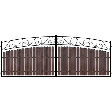 Brama dwuskrzydłowa MODENA 400 x 150 cm POLARGOS