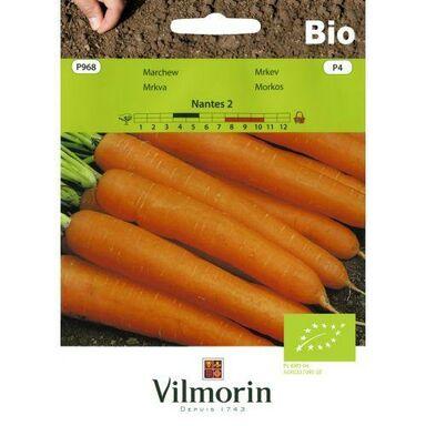 Nasiona warzyw NANTES 2 BIO Marchew VILMORIN