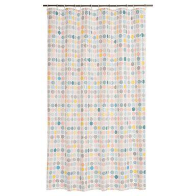 Zasłonka prysznicowa GROSZKI 180 x 200 cm SENSEA