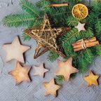 Serwetki świąteczne Cinnamon stars 33 x 33 cm 20 szt.
