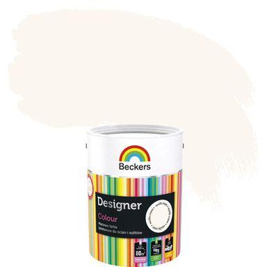 Farba wewnętrzna do ścian i sufitów DESIGNER COLOUR 5 l Vanilla Cream BECKERS