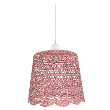 Lampa wisząca NONNA różowa E27 CANDELLUX