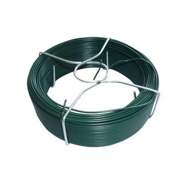 Drut wiązałkowy 50 m x 1.1 mm ocynkowany zielony