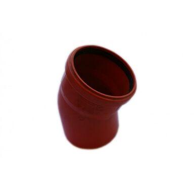 Kolano kanalizacji zewnętrznej 110 mm/30° POLIPLAST