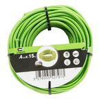 Lina elastyczna 9 kg 4 mm x 15 m zielona STANDERS