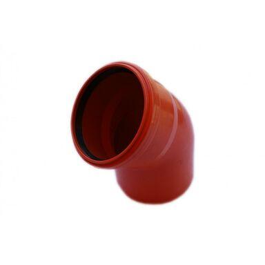 Kolano kanalizacji zewnętrznej 110 mm/45° POLIPLAST