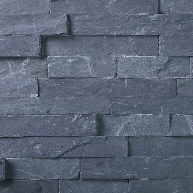 Kamień naturalny WALL CRAZY CZARNY SMALL 40 x 10 cm KNAP