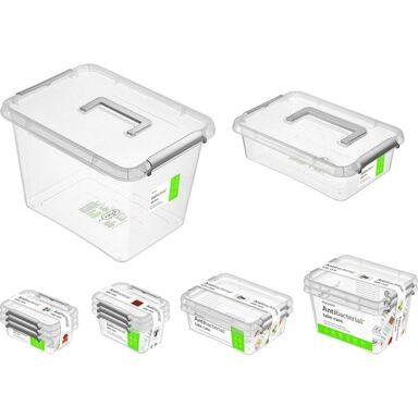 Zestaw pojemników Antibacterial 12 szt. Orplast