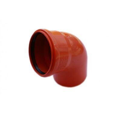 Kolano kanalizacji zewnętrznej 110 mm/67° POLIPLAST