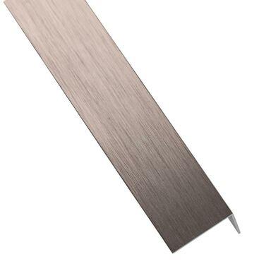 Kątownik aluminiowy 1 m x 11 x 11 mm miedź szczotkowana STANDERS