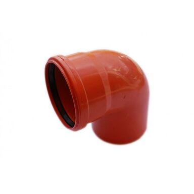 Kolano kanalizacji zewnętrznej 110 mm/90° POLIPLAST